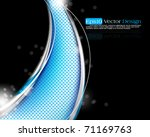 elegant design in eps10 vector... | Shutterstock .eps vector #71169763