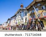 bad toelz  germany   june 15  ...   Shutterstock . vector #711716068