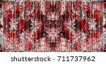 red black white aged grunge... | Shutterstock . vector #711737962