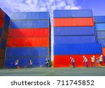 container | Shutterstock . vector #711745852