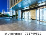 office building entrance space... | Shutterstock . vector #711749512