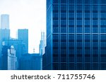 architectural complex against... | Shutterstock . vector #711755746