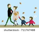 winter image | Shutterstock .eps vector #711767488