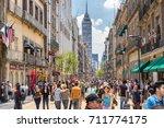 mexico city  mexico   jul 7 ... | Shutterstock . vector #711774175