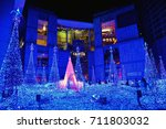 starlight garden  tokyo midtown ... | Shutterstock . vector #711803032