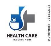 health care logo | Shutterstock .eps vector #711813136