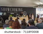 A Show Cooking During The...