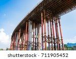 railway under construction | Shutterstock . vector #711905452
