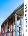 railway under construction | Shutterstock . vector #711905476