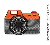 photographic camera icon image | Shutterstock .eps vector #711914746