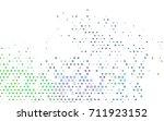 light multicolor  rainbow... | Shutterstock .eps vector #711923152