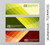 vector design banner backgrounds   Shutterstock .eps vector #711949132