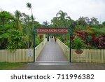 kuranda  australia  4 aug 2017  ...   Shutterstock . vector #711996382