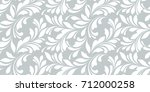 floral seamless pattern.... | Shutterstock .eps vector #712000258