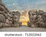 the lion gate in the south west ... | Shutterstock . vector #712022062