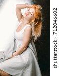 beauty female | Shutterstock . vector #712046602