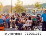 budapest  hungary 09  sept. ...   Shutterstock . vector #712061392
