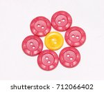 colored buttons  | Shutterstock . vector #712066402