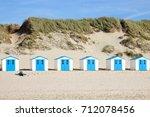 Texel. Little White Blue House...