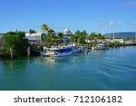 port douglas  australia  1 aug... | Shutterstock . vector #712106182