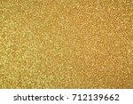 abstract glitter  lights... | Shutterstock . vector #712139662