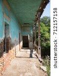 Abandoned School In Transylvania