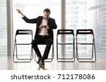distraught impatient... | Shutterstock . vector #712178086
