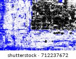 abstract grunge blue dark... | Shutterstock . vector #712237672