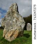 duloe stone circle   Shutterstock . vector #712247275