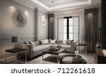 Interior Living Modern Classic...