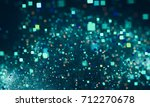 abstract square bokeh....   Shutterstock . vector #712270678