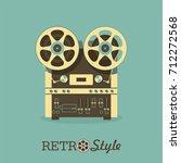 Vintage Reel To Reel Tape...