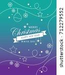 christmas | Shutterstock .eps vector #712279552