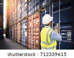 foreman control loading... | Shutterstock . vector #712339615
