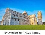 pisa cathedral  duomo di pisa ...   Shutterstock . vector #712345882
