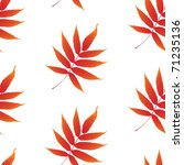 wallpaper with curling leaves... | Shutterstock .eps vector #71235136