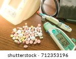 concept medical treatment for... | Shutterstock . vector #712353196