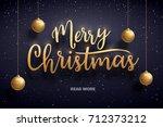 vector illustration of merry...   Shutterstock .eps vector #712373212