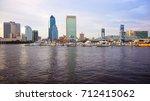 jacksonville  florida city... | Shutterstock . vector #712415062