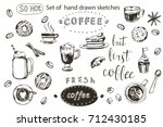 coffee collection hand drawn...
