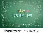 happy teacher's day calligraphy