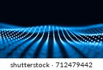 abstract 3d rendering... | Shutterstock . vector #712479442