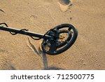 Metal Detector On The Beach