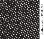 seamless primitive jumble... | Shutterstock .eps vector #712503796