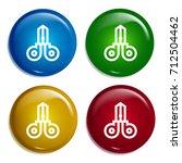 scissors multi color gradient...
