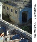 Small photo of Detail of an Old Portuguese Military Installation, currently abandoned