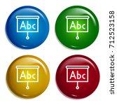 presentation multi color...