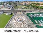 panorama of hieronymites... | Shutterstock . vector #712526356