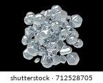 zinc oxide nanoparticles  3d...   Shutterstock . vector #712528705