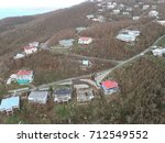 Small photo of St. Thomas, U.S. Virgin Islands - September 8, 2017: The extent of the damage caused by Hurricane Irma.